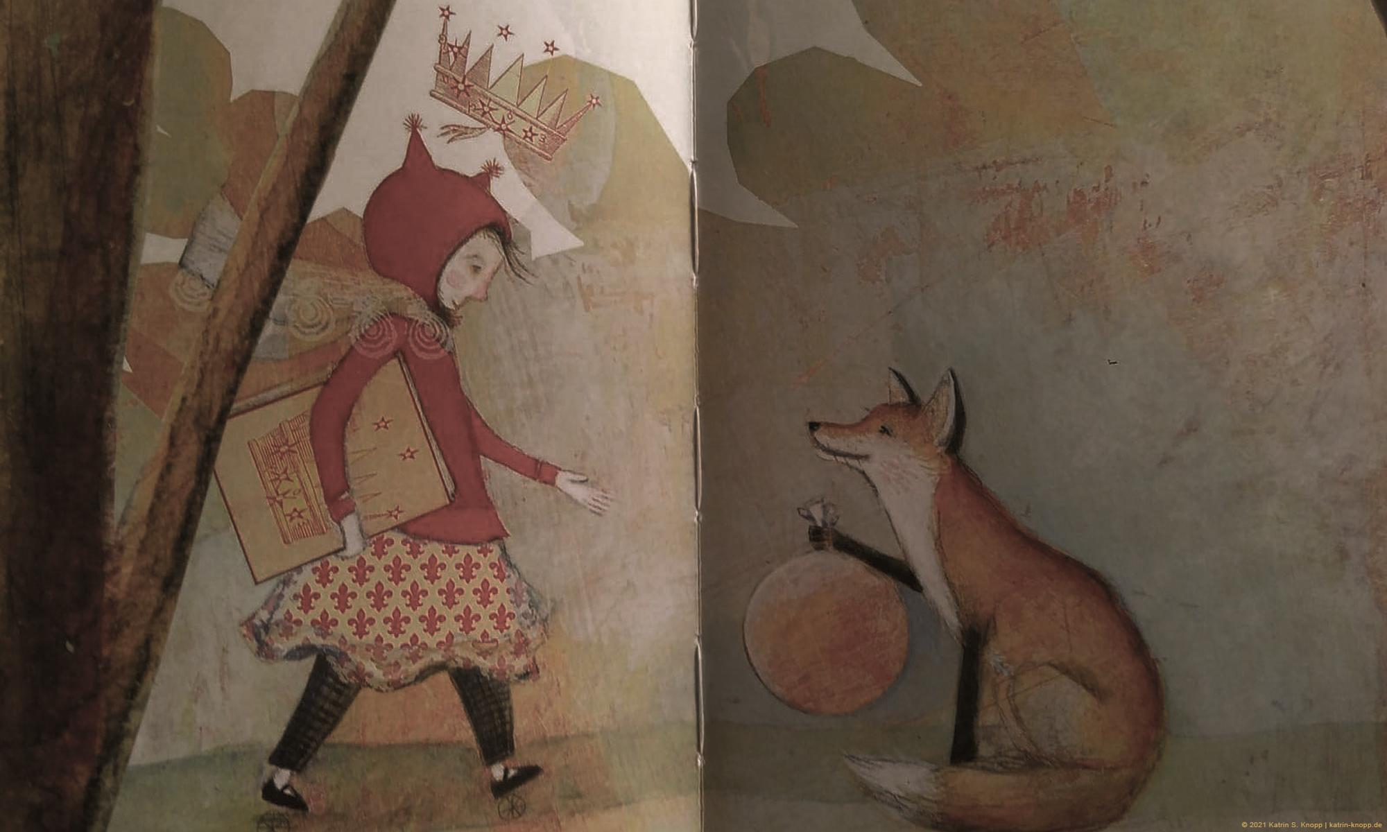 Pamela Zagarenski: Der Fuchs und die verlorenen Buchstaben | © Katrin S. Knopp | www.katrin-knopp.de